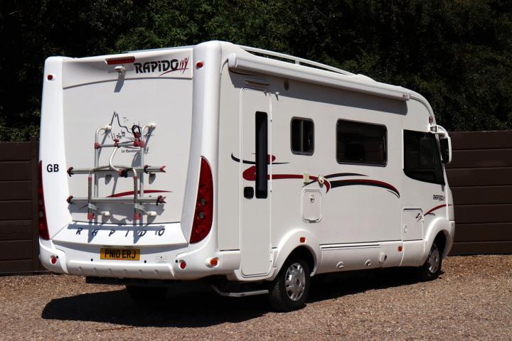 2010 Rapido 9048 DF - Offside Rear