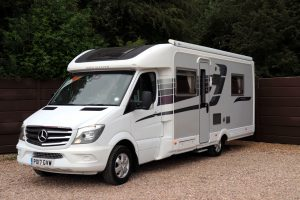 2017 Auto Sleeper Burford Duo - Nearside Front