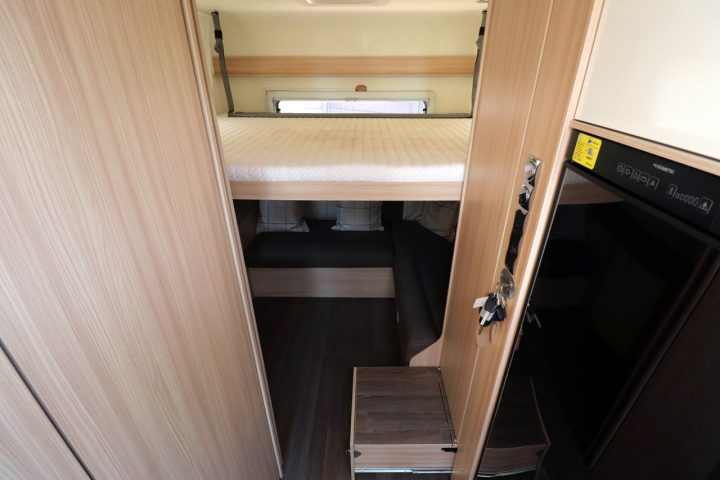 2018 Burstner Lyseo T744 - Electric Drop Down Bed