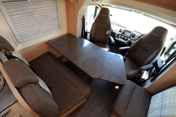2018 Burstner Lyseo T744 - Lounge Table Extended