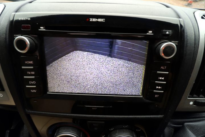 Burstner Nexxo T690G Sovereign - Reverse Camera