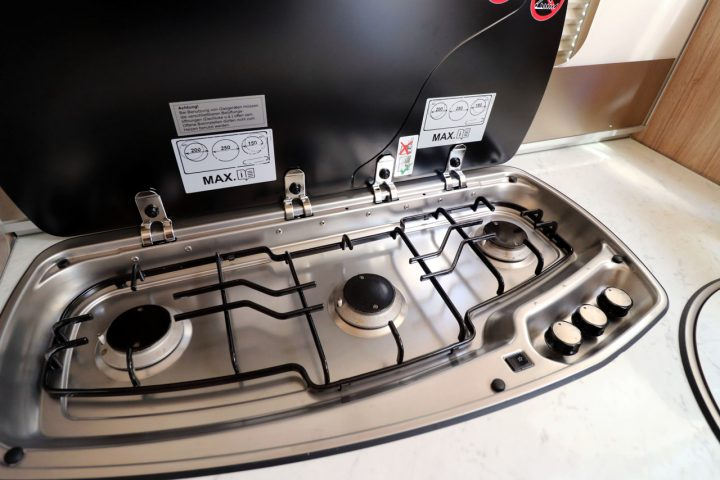 Hymer B678 - Cooker Hobs