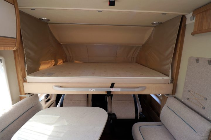 Hymer B678 - Over Cab Drop Down Bed