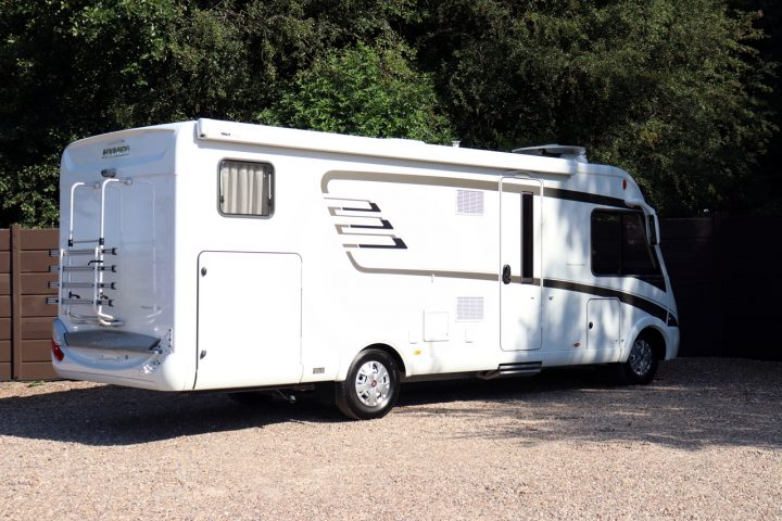 Hymer B704 PL - Offside Rear