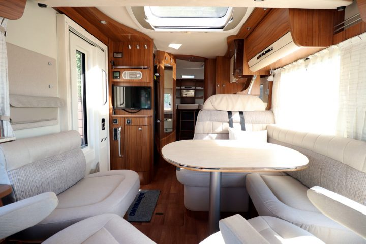 Hymer B704 PL - View From Cab