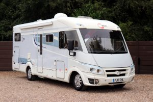 2010 Hymer i-T.E.C 710 - Offside Front