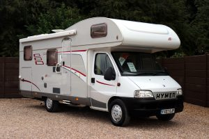 Hymer Classic C644 - Offside Front