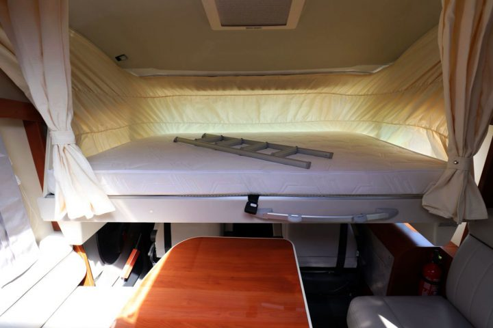 Mobilvetta K-Yacht 85 - Overcab Drop Down Bed 2