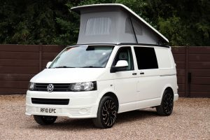 Volkswagen Transporter T5 - Nearside Front Roof Up