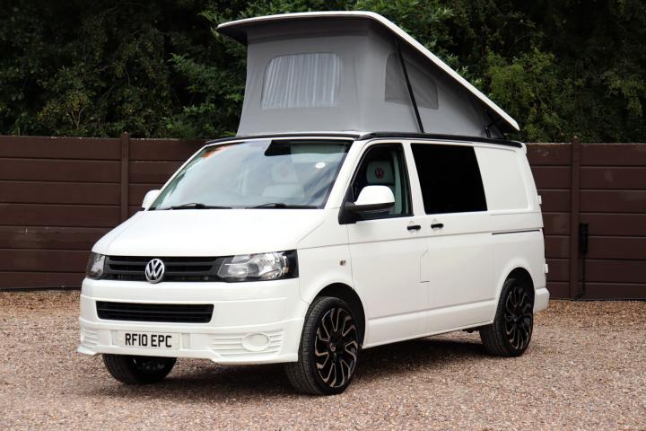 Volkswagen Transporter T5 - Nearside Front Roof Up