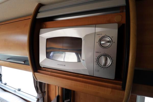 Autotrail Chieftan G - Microwave