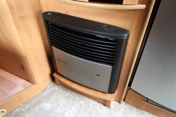 Autotrail Chieftan G - Truma Heating