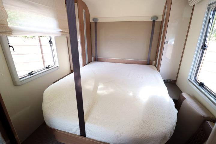 Burstner Lyseo 745 Harmony Line - Rear Electric Drop Down Bed
