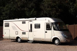 Hymer S830 - Offside Front