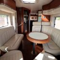 Hymer S830 - View from Cab