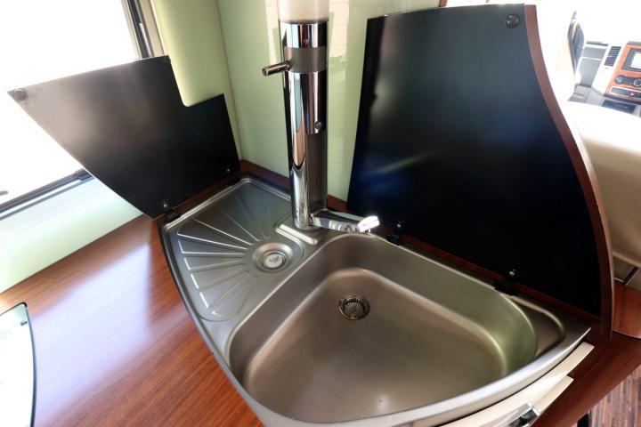Hymer S830 - Kitchen Sink