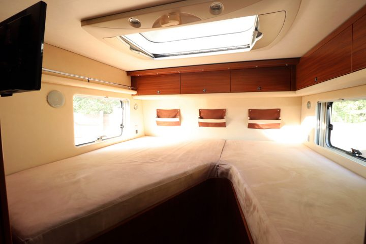 Hymer S830 - Rear Fixed Bed