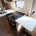 Swift Champagne 674 - Kitchen Extended