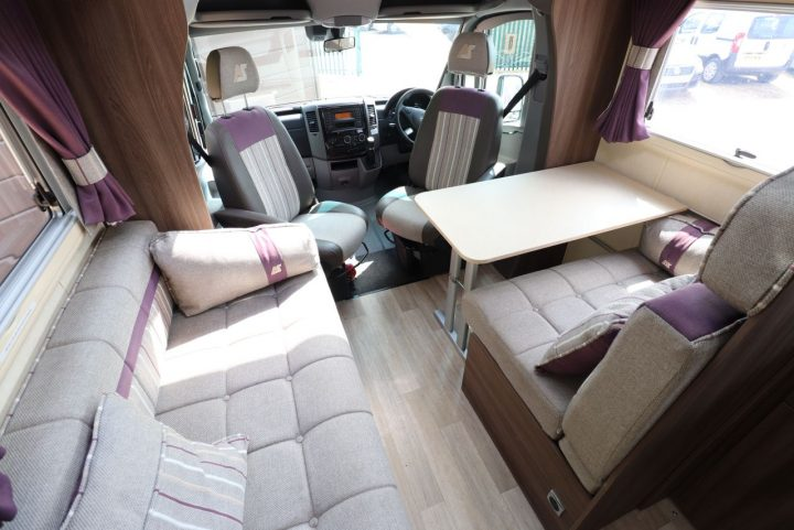 Auto-Sleepers Burford - Front Lounge