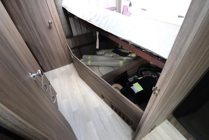 Auto-Sleepers Burford - Under Bed Storage