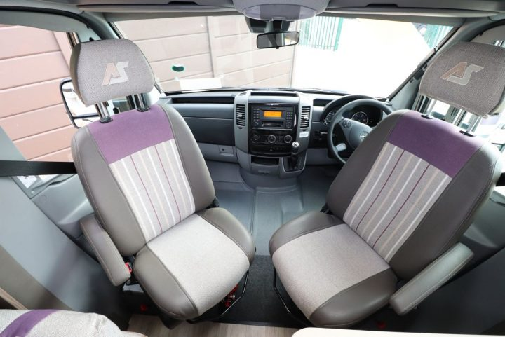 Auto-Sleepers Burford - Swivel Seats