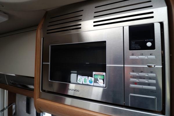 Autotrail Scout - Microwave