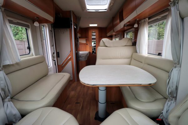 Hymer T668 SL - View From Front