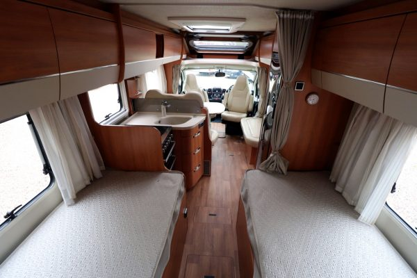 Hymer T668 SL - View From Rear