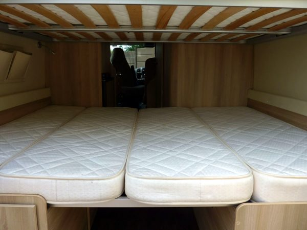 Trigano Tribute T669 - Beds From Rear 2