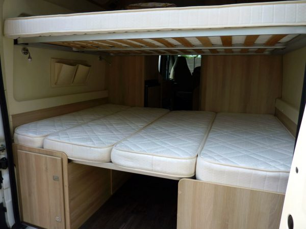 Trigano Tribute T669 - Beds From Rear