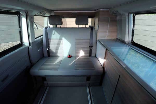 VW California - View From Front