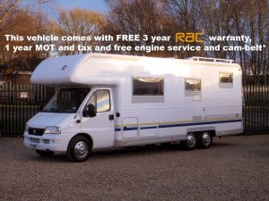 1 2003 BURSTNER ARGOS 747 - 7 BERTH MOTORHOME FOR SALE - OAKTREE MOTORHOMES