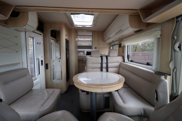 Hymer B708 SL - View From Cab