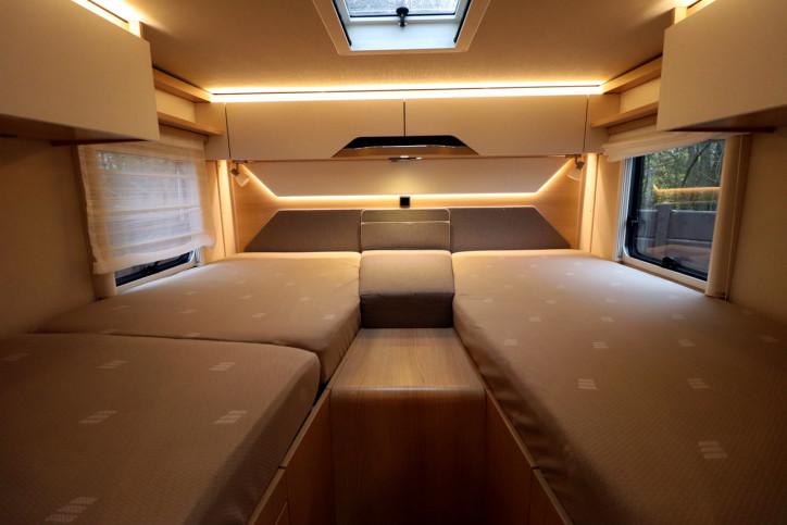 Hymer BMCI 680 - Rear Single Beds Over Garage