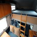 Knaus Sun Traveller 708G - Overcab Bed