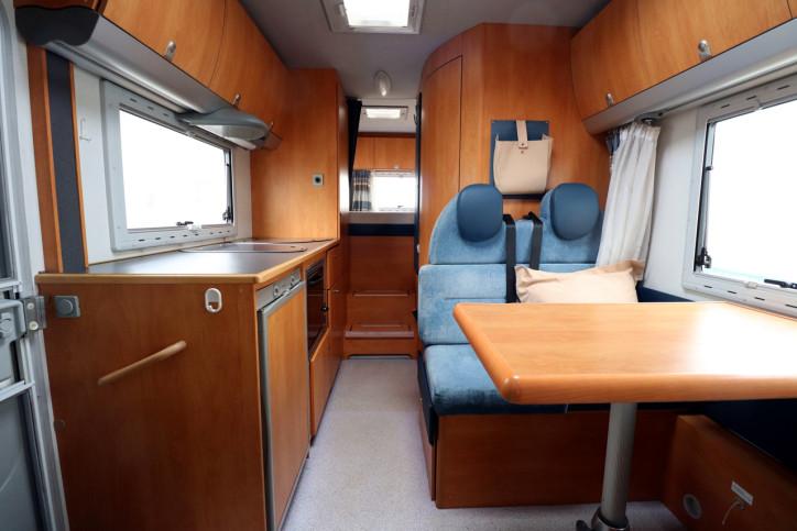 Knaus Sun Traveller 708G - View From Cab