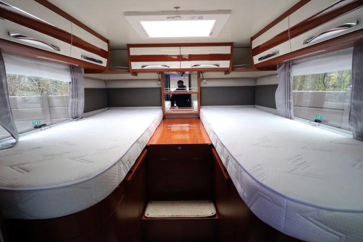 Mobilvetta K-yatch 85 - Rear Single Beds