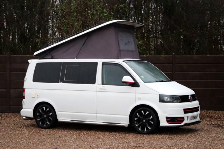 Volkswagen T5 Transporter Camper - Offside Front