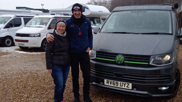 Paul and Sue VW T6 Collection