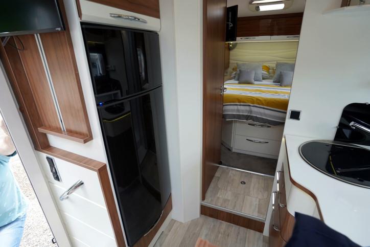 2018 Pilote Sensation P740 fridge freezer