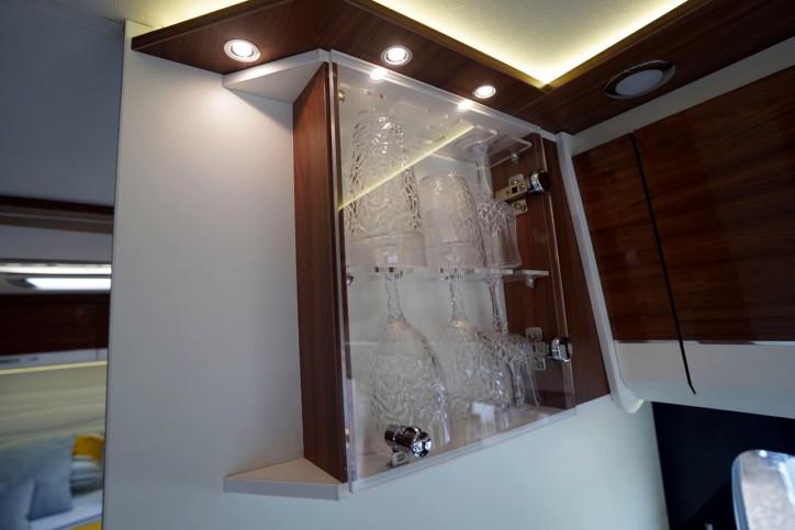 2018 Pilote Sensation P740 glass cabinet